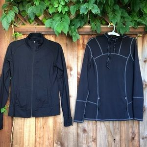 Bundle of workout/active jackets size M/L Tuff